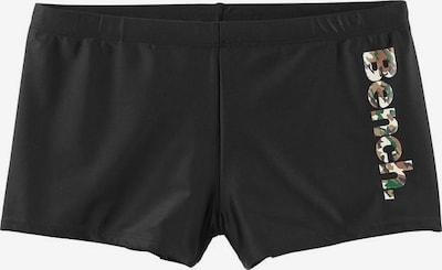 BENCH Boxer-Badehose in schwarz, Produktansicht