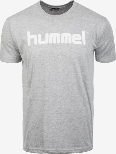 Hummel Trainingsshirt in grau / weiß, Produktansicht