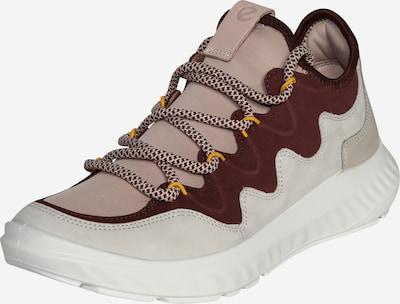 ECCO Sneaker '1 Lite' in hellbraun / rosa / burgunder, Produktansicht