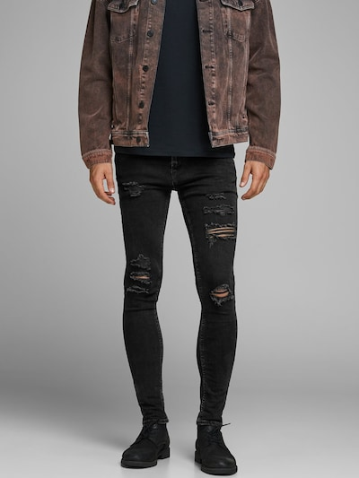 JACK & JONES Jeans 'LIAM ORIGINAL AM 502' i sort, Modelvisning