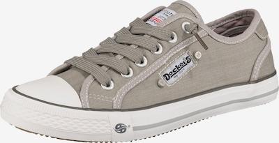 Dockers by Gerli Sneaker in grau / weiß, Produktansicht