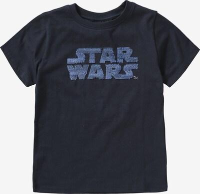 STAR WARS T-Shirt in blau / nachtblau / silber, Produktansicht