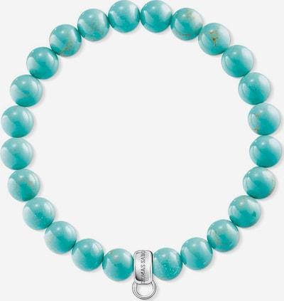 Thomas Sabo Charm-Armband in türkis / silber, Produktansicht