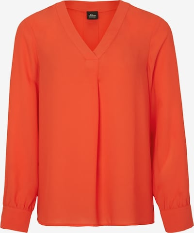 s.Oliver BLACK LABEL Bluse in neonorange, Produktansicht