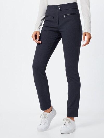 Pantaloni 'Mills' BRAX pe gri metalic, Vizualizare model