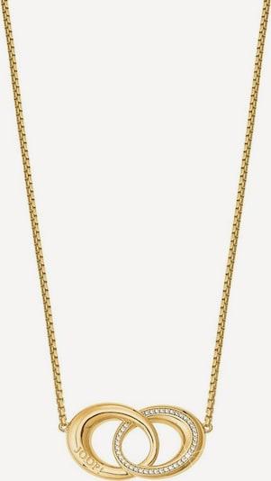 JOOP! Kette '2026902' in gold / weiß, Produktansicht