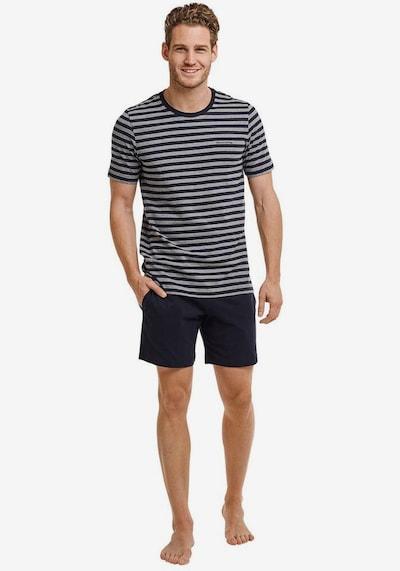 Marc O'Polo Pyjama in nachtblau / graumeliert, Modelansicht