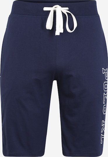 POLO RALPH LAUREN Spodnie 'Liquid' w kolorze atramentowy / białym, Podgląd produktu