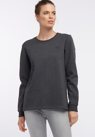 DREIMASTER Sweat-shirt en gris: Vue de face