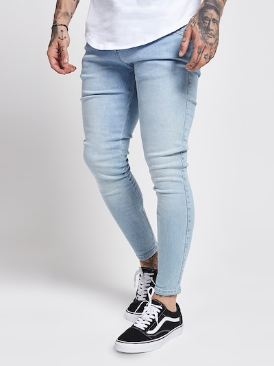 SikSilk Jeans in hellblau, Modelansicht