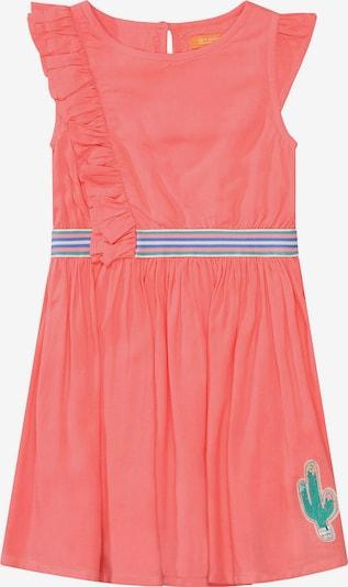 STACCATO Kleid in mischfarben / koralle, Produktansicht