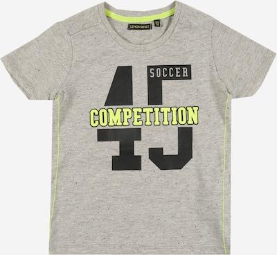 LEMON BERET T-Shirt en gris chiné: Vue de face