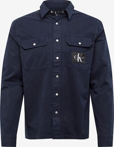 Cămașă 'ARCHIVE ICONIC UTILITY SHIRT' Calvin Klein Jeans pe albastru închis / alb, Vizualizare produs