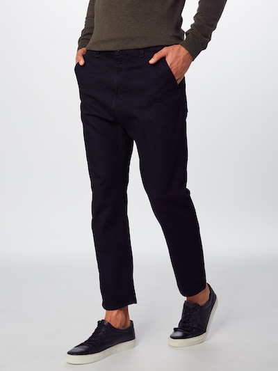 EDWIN Jeans in black denim, Modelansicht