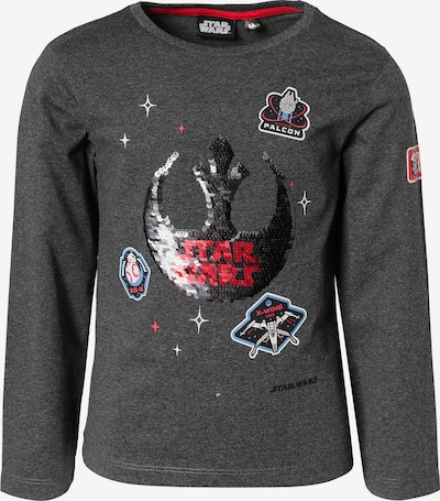 STAR WARS Shirt in dunkelgrau, Produktansicht
