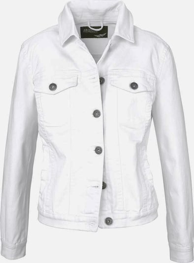 ARIZONA Jeansjacke in weiß, Produktansicht