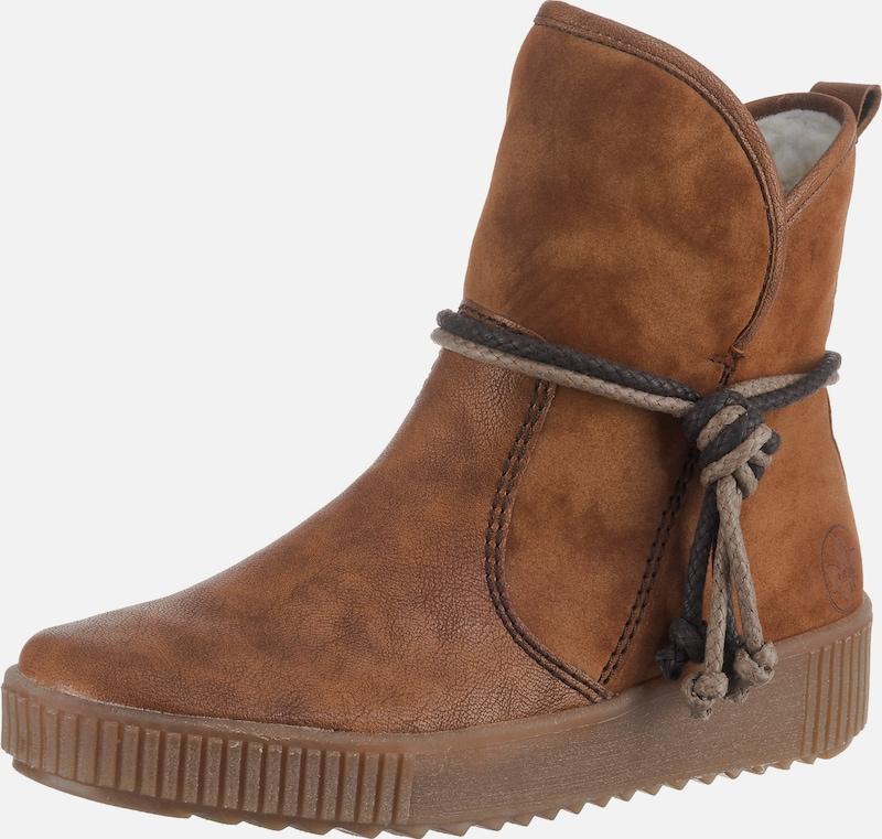 rieker sommerschuhe reduziert, rieker Boots Kunstfell