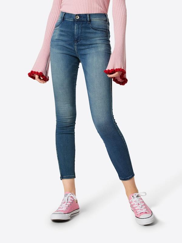 'geena' Garcia Jeans In Blauw Denim 9D2IHE