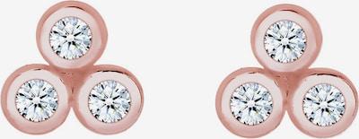 Diamore Ohrringe 'Kreis' in rosegold, Produktansicht