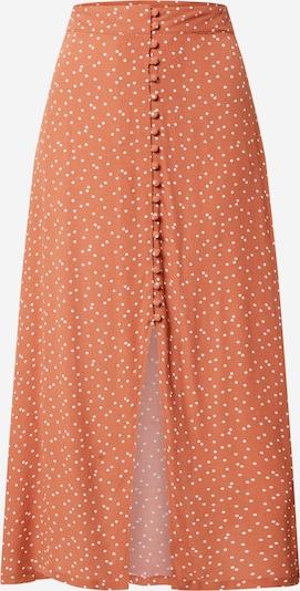 Cotton On Rok 'Summer Button' in de kleur Sinaasappel / Wit, Productweergave