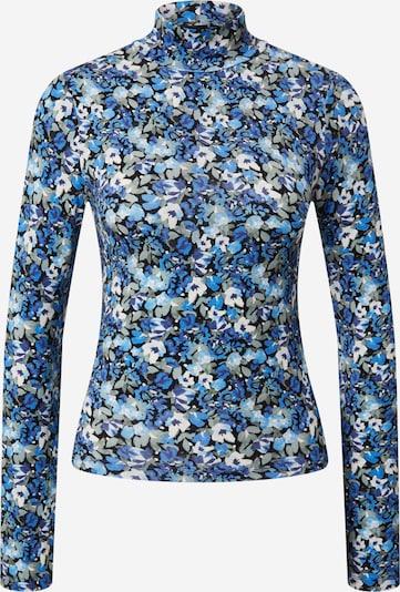 Tricou 'Dorsia' Gina Tricot pe albastru / albastru royal / albastru deschis / albastru închis / gri / alb, Vizualizare produs