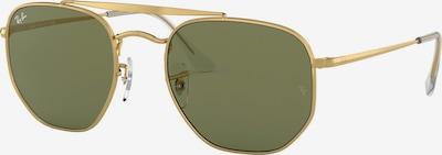 Ray-Ban Sonnenbrille 'Marshal' in gold / schwarz, Produktansicht