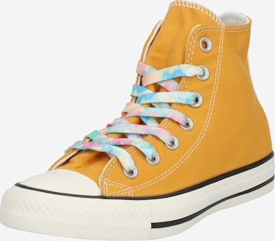 CONVERSE Baskets hautes 'CHUCK TAYLOR ALL STAR' en jaune, Vue avec produit