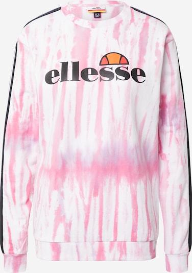 Bluză de molton 'Veneziana' ELLESSE pe roz / negru / alb, Vizualizare produs