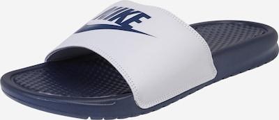 Nike Sportswear Muiltjes 'Benassi' in de kleur Navy / Grijs, Productweergave