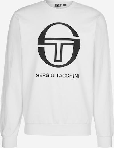Sergio Tacchini Sweater 'Ciao' in schwarz / weiß, Produktansicht