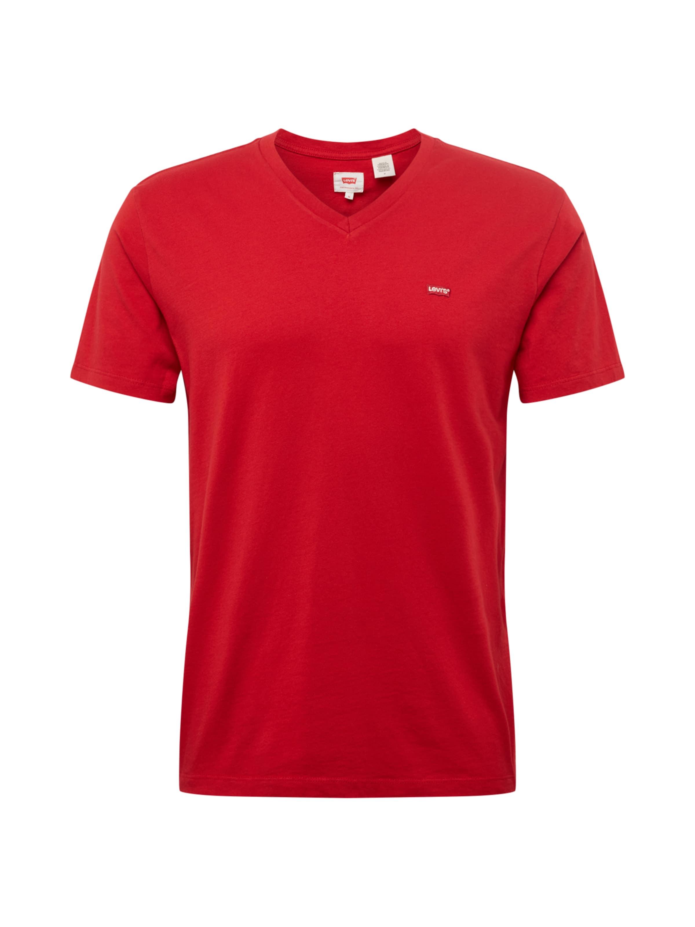 shirt T Levi's Rot In 'orighmvneck' 3A4q5RjL