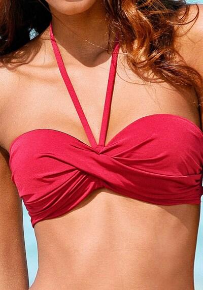 LASCANA Bikini w kolorze czerwonym, Podgląd produktu