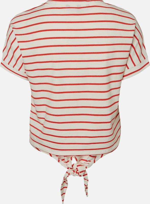Vero Moda Striped Shell With Short Sleeves