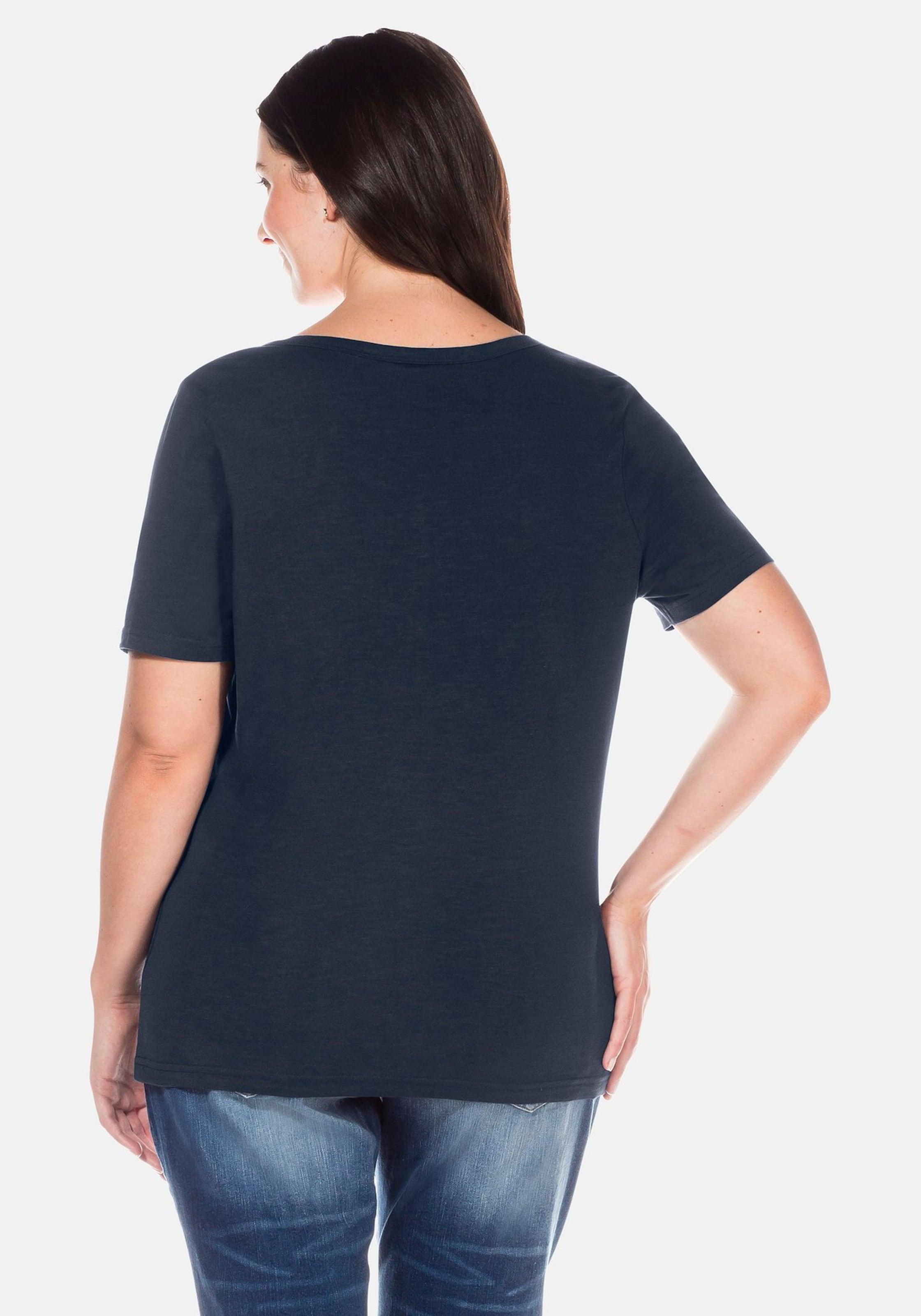 shirt Marine In Sheego T TclFK1J
