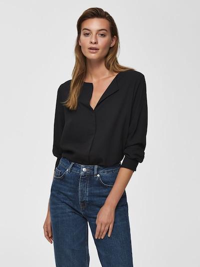SELECTED FEMME Hemd in schwarz, Modelansicht
