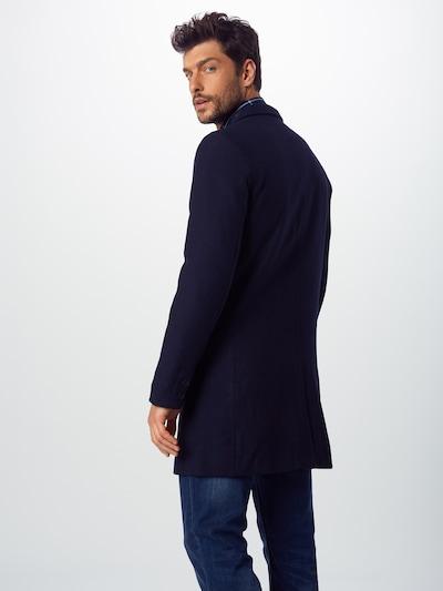 Palton de primăvară-toamnă 'JULIAN SOLID' Only & Sons pe albastru închis: Privire spate