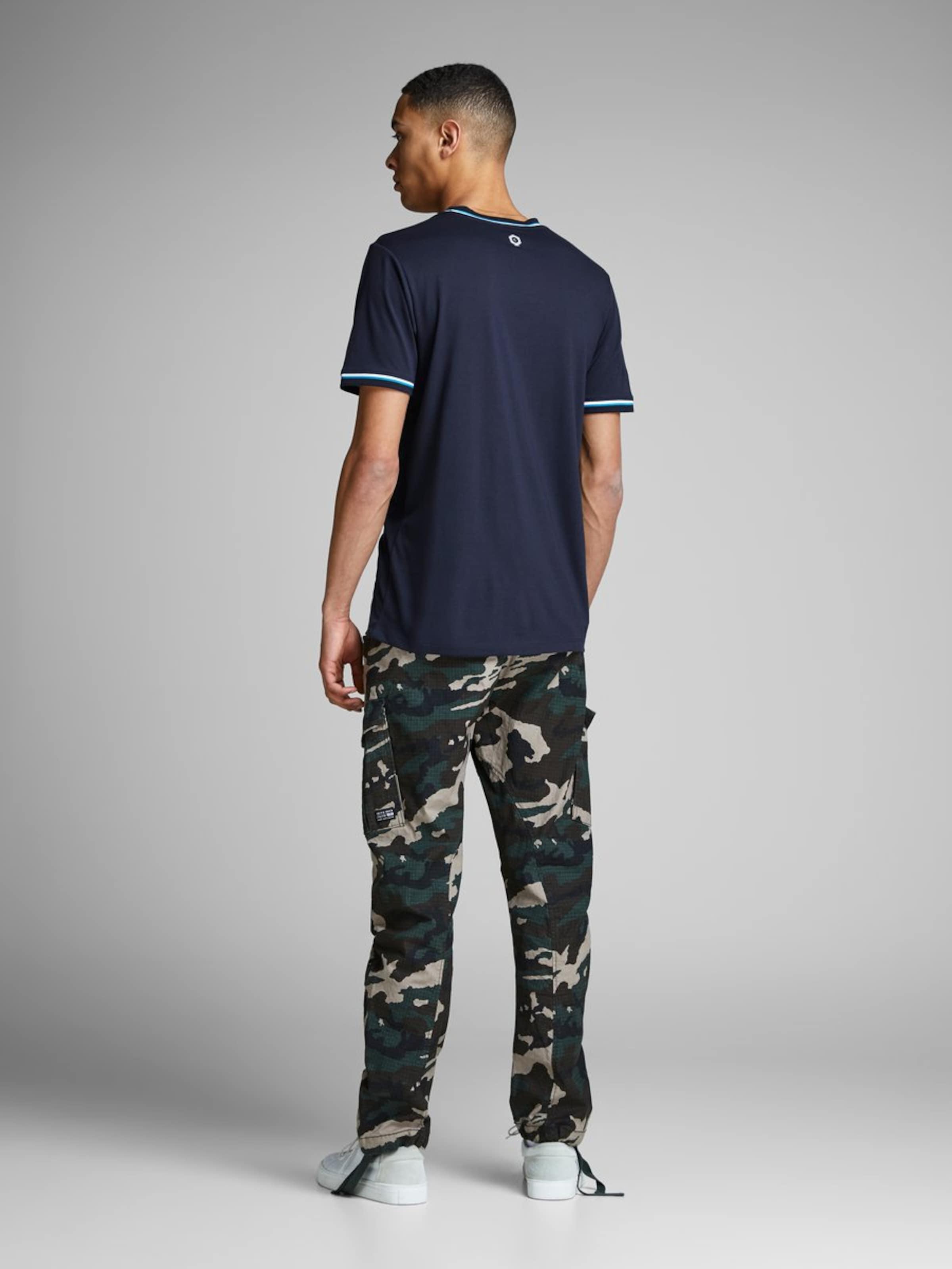 T shirt MarinePétrole Blanc Jackamp; En Jones Bleu Ibf6yvYg7