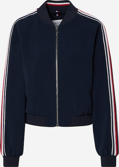 TOMMY HILFIGER Jacke 'ICON DOUBLE CREPE BOMBER' in nachtblau / dunkelblau, Produktansicht