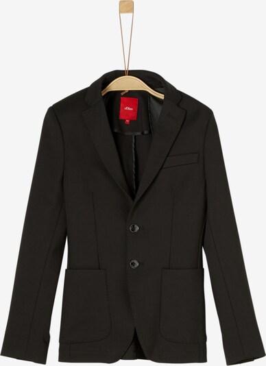 s.Oliver Junior Sakko in schwarz, Produktansicht