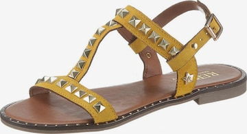 REPLAY Sandale 'Epinet' in Gelb