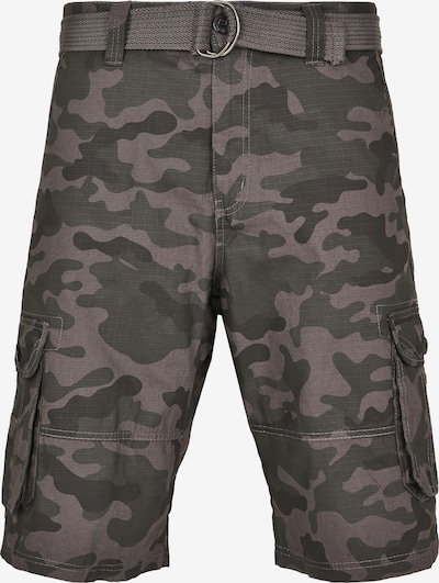SOUTHPOLE Cargo trousers in taupe / dark grey / black, Item view