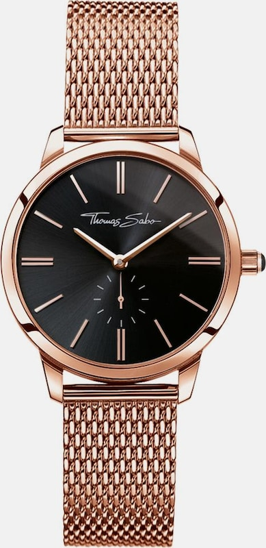 Thomas Sabo Quarzuhr 'WA0249-265-203-33 mm' in rosegold: Frontalansicht