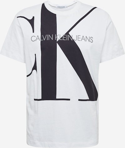 Calvin Klein Koszulka 'Upscale Monogram Logo Reg Tee' w kolorze czarny / białym, Podgląd produktu