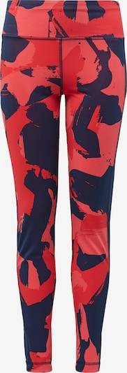 ADIDAS PERFORMANCE Sporthose in navy / rot / melone, Produktansicht