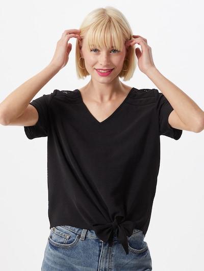 VILA Shirt 'RASHA' in schwarz: Frontalansicht