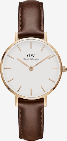 Daniel Wellington Analog Watch 'Classic Petite 28 St Mawes' in Brown