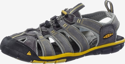 KEEN Outdoorsandalen 'Clearwater CNX' in gelb / grey denim, Produktansicht