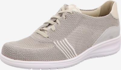 SOLIDUS Schnürschuh in beige / grau / taupe, Produktansicht