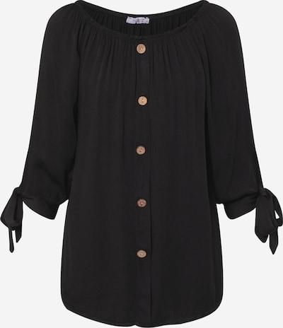 Hailys Shirt 'Eliana' in schwarz, Produktansicht