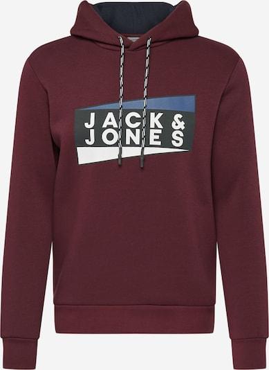 JACK & JONES Sweatshirt in weinrot, Produktansicht